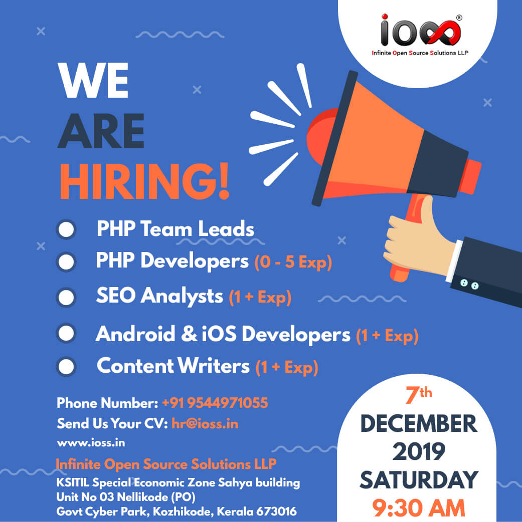 iOSS | Software Development & IT Job opportunities in