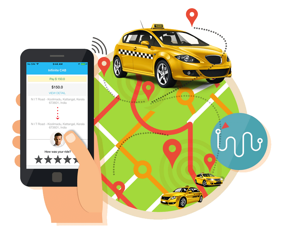 Taxi Management Software and App Development - iOSS